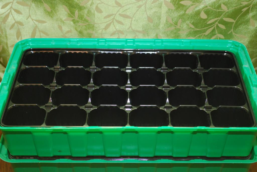 Ültető edény - mini üvegház