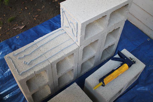 Blokkok építése