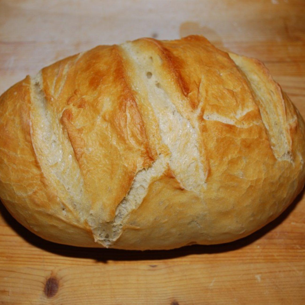 Weekend project: Házi fehér kenyér
